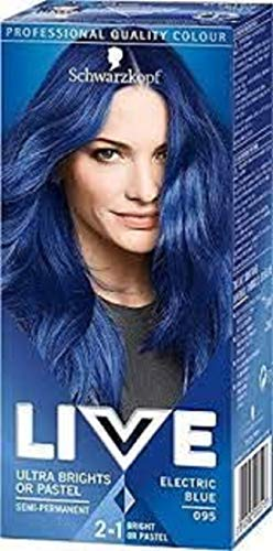 Schwarzkopf Live Color Xxl Ultra Brights 95 Electric Blue