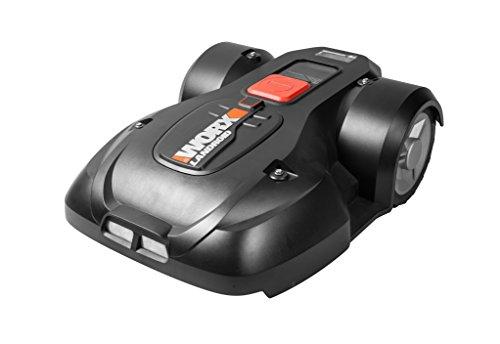 Worx Landroid L1500i Mähroboter – Automatischer Rasenmäher für bis zu 1500 qm mit WLAN-Verknüpfung (App-Steuerung) und verstellbarer Schnitthöhe – 70 x 52 x 26 cm (L x B x H)