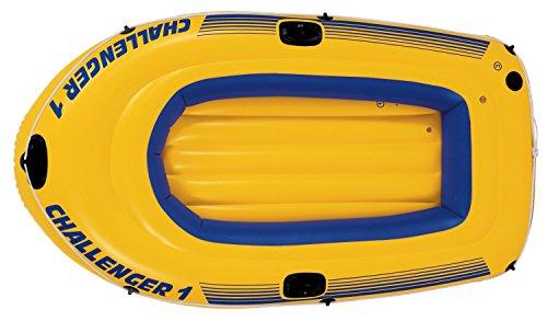 Intex Schlauchboot Challenger 1 Phthalates Free, 193 X 108 X 38 cm, 68365np