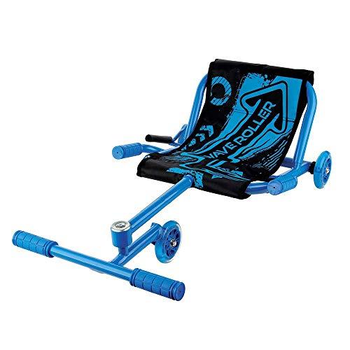 NBZH Kinder Go Kart Drift Trike Maschine Mini Kart Drifter Kinder Rennkart Geeignet für 4-15 Jahre (Tragegewicht 70KG),Blau