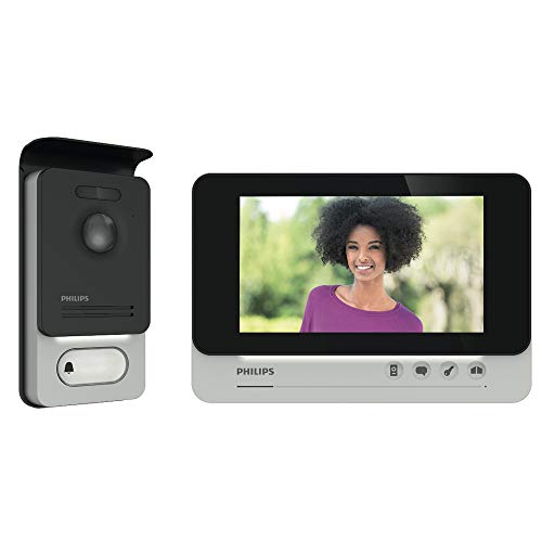 PHILIPS WelcomeEye COMFORT - Videosprechanlage - 2 Draht Technik - 7' Display - DES 9500 VDP