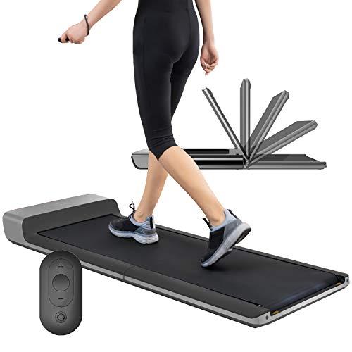 DuraB Laufband Klappbar USB- MAX 12 km//h 12 voreingestellten Laufband f/ür Zuhause 3 Neigungen Manuell AUX- und Bluetooth-Konnektivit/ät und LED-Anzeige Laufband Elektrisch MAX 100 kg