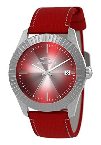 Armbanduhr CHRONOTECH fur Mann Sign mit uhrarmband aus Polyurethane, Werk TIME JUST - 3H QUARZUHR DE ONE Size