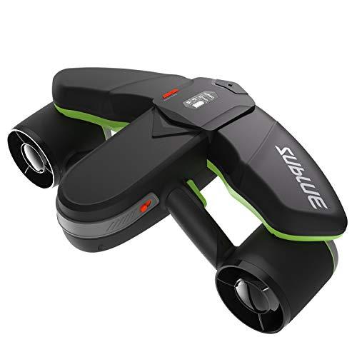 WINDEK Sublue Navbow Intelligenter Unterwasser Scooter mit Action-Kamera Montieren OLED-Anzeige 40M Wasserdicht Elektrischer Seascooter für Wassersport Tauchen & Schnorcheln & Meer Abenteuer