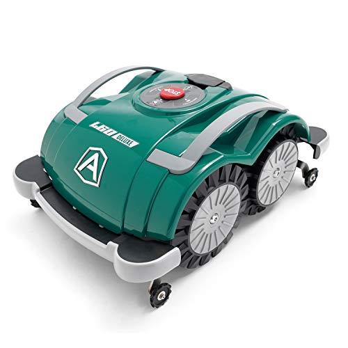Ambrogio Mähroboter   Modell : L60 Deluxe   Einfach zu bedienen, ohne Installation und ohne Begrenzungskabel für kleine Gärten