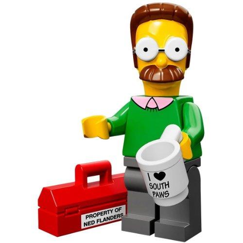 LEGO 71005 - Minifigur Ned Flanders aus der Sammelfiguren-Serie The Simpsons