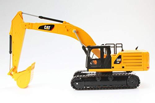 Diecast Masters 25005 - Ferngesteuerter Caterpillar RC Kettenbagger 336, detailgetreues, realistisches CAT Baufahrzeug in 1:24, ca. 43 x 14,5 x 25,5 cm, ca. 25 m Reichweite, ab 8 Jahren