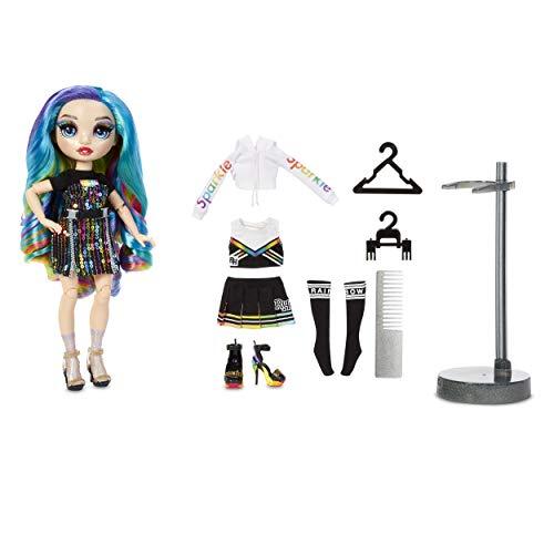 Rainbow High Fashion Doll - Amaya Raine - Regenbogen Puppe mit Luxus-Outfits, Accessoires und Puppenständer - Rainbow High Series 2 - Perfektes Geschenk für Mädchen ab 6+ Jahren