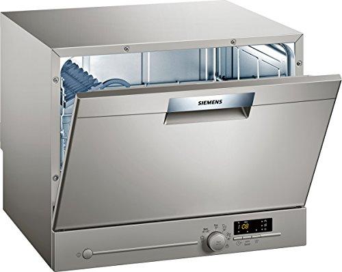 Siemens SK26E821EU iQ300 Geschirrspüler / A+ / 174 kWh/Jahr / 6 MGD / 2240 l/Jahr / Leise / AquaStop