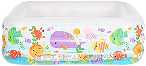 Intex See Aquarium Pool - Kinder Aufstellpool - Planschbecken - 159 x 159 x 50 cm - Für 3+ Jahre