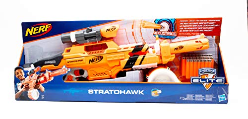 Hasbro Nerf E3097 N-Strike Elite Stratohawk Spielzeugblaster Gewehr