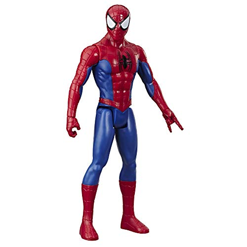 Hasbro E7333 Marvel SpiderMan Titan Hero Serie 30 cm große SpiderMan ActionFigur mit Titan Hero FX Port