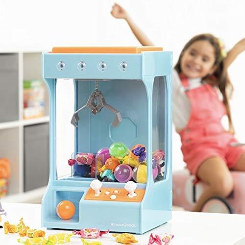 Playtastic Kaugummiautomat: Candy Grabber Süßigkeitenautomat (Süßigkeitenautomat mit Geldeinwurf)