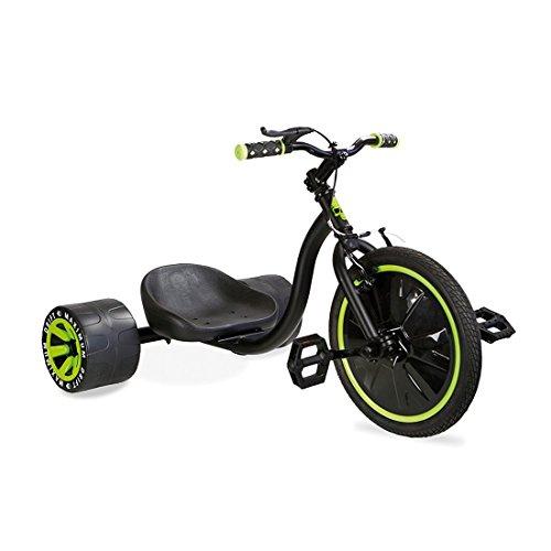 Madd Drift Trike 16' Drifter Dreirad Rutscher grün/schwarz