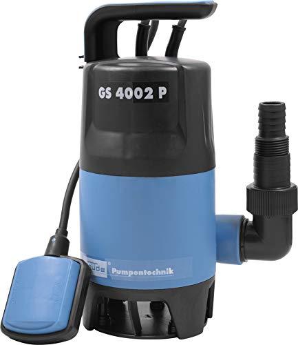 Güde 94630 Schmutzwassertauchpumpe GS4002P mit var.Schwimmerschalter (400W, 7500l/h, 5m max. Förderhöhe)