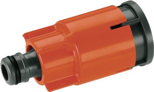 Gardena Wasserstecker mit Stoppventil: Ersatzteil für Gardena Wassersteckdose Art.-Nr. 2797, Wasseranschluss komplett mit Wasserstopp (5797-20)