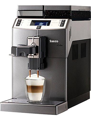 Saeco 10004768 Lirika Kaffeevollautomat, Edelstahl, 2 liters