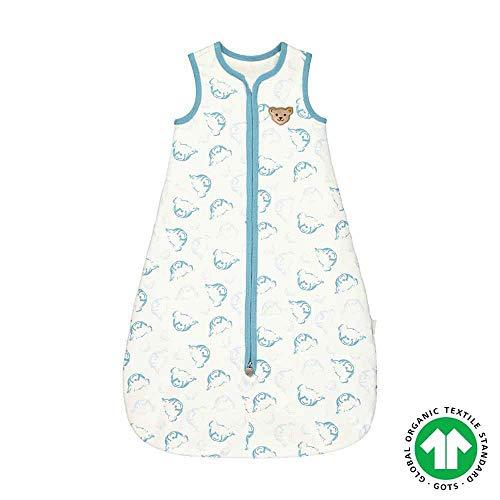 STEIFF Baby Schlafsack aus Bio Baumwolle L002012317 adriatic blue (L110)