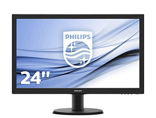 Philips 223V5LSB/00 54,6 cm (21,5 Zoll) Monitor (VGA, DVI, TN Panel, 1920 x 1080, 60 Hz, ohne Lautsprecher) schwarz