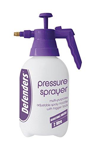 Defenders 2Ltr Pressure Sprayer 2 l Drucksprüher, Mehrfarbig, 2 Litre
