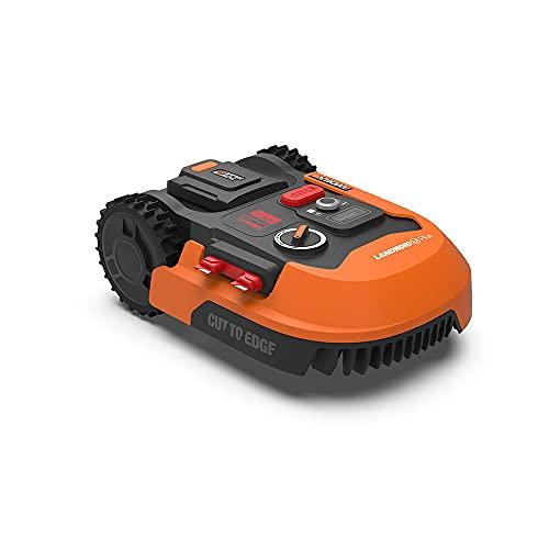 WORX Landroid PLUS WR165E Mähroboter für Gärten bis 500 qm mit WLAN, Bluetooth und schwimmendem Mähdeck