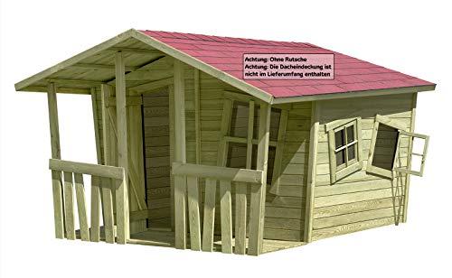 Gartenpirat Spielhaus Gartenhaus Lisa-Fun aus Holz 207x200 cm