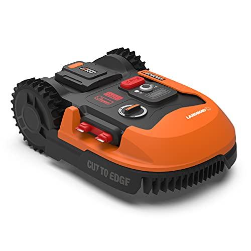WORX Landroid PLUS WR148E Mähroboter für Gärten bis 800 qm mit WLAN, Bluetooth und schwimmendem Mähdeck