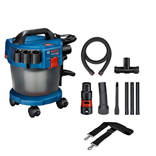 Bosch Professional 18V System Industriestaubsauger Gas 18V-10 L (ohne Akku, 1,6 m Schlauch, 3 Verlängerungsrohre, im Karton)