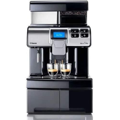 Saeco 10005233 Aulika Office EVO Kaffevollautomat, Kunststoff, 4 liters, Schwarz