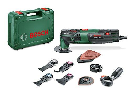 Bosch Multifunktionswerkzeug PMF 250 CES Set (250 Watt, im Koffer)