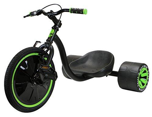 MADD Unisex Jugend Dreirad-3096074000 Dreirad, grün/schwarz, One Size