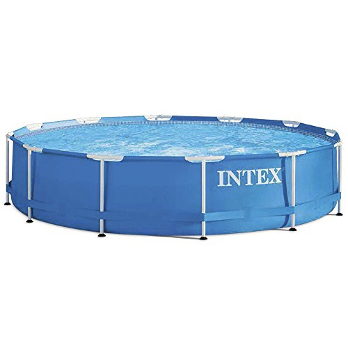 Intex Metal Frame Pool - Aufstellpool - Ø 366 x 76 cm - Mit Filteranlage