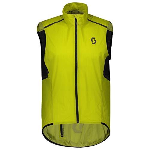 Scott RC Weather Fahrrad Windweste gelb 2021: Größe: XL (54/56)