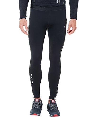 Ultrasport Herren Laufhose lang, für Laufen, Radfahren, Fitness etc., angenehmes Tragegefühl durch hohen Stretchanteil, mit Quick-Dry-Funktion