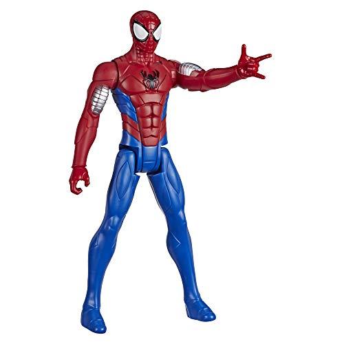 Hasbro Marvel E73295L2 Spider-Man: Titan Hero Serie Armored Spider-Man, 30 cm große Superhelden Action-Figur