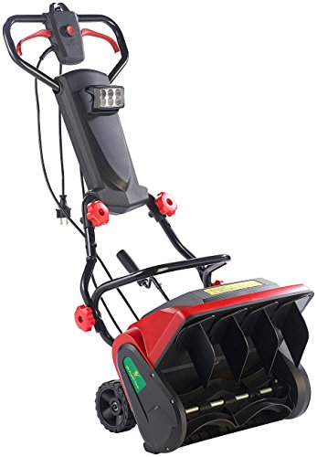 AGT Elektro Schneefräsen: Elektrische Schneefräse mit LED-Beleuchtung SB-213.e, 1.300 W (Elektrische Schneeschaufel)