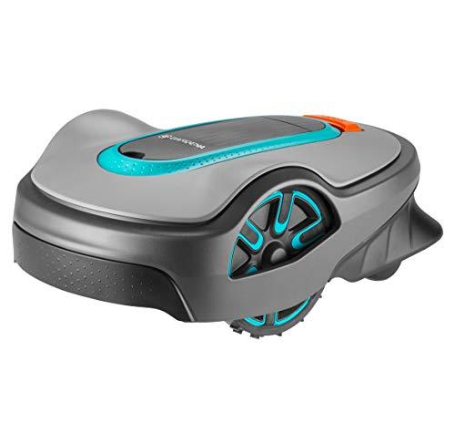 GARDENA SILENO life: Mähroboter für Rasenflächen bis 750 m², Bluetooth-App bedienbar, Easy-Passage-Funktion, mit 57 db(A) sehr leise, Steigung bis zu 35%, mäht bei jedem Wetter (15101-20), DE-Version