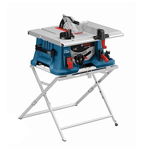 Bosch Professional Tischsäge GTS 635-216 (1.600 Watt, 5.500 U/min, inkl. Arbeitstisch GTA 560, 1 x Kreissägeblatt, im Karton)