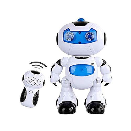 MUZoo Intelligent und charismatisch ferngesteuerter Roboter Tanz mit Musik und Licht Disco-Roboter und jubelt, Augen und blinkende Brust for populäre Wissenschaft Kinder Kinder pädagogisches Spielzeug