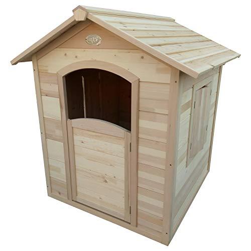 AXI Spielhaus Britt, Holz, Gartenhaus, Kinderspielhaus, Holzhaus für Kinder