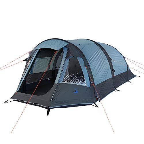 10T Zelt Neptun aufblasbares 3 Mann Tunnelzelt wasserdichtes Campingzelt Familienzelt inkl. Pumpe