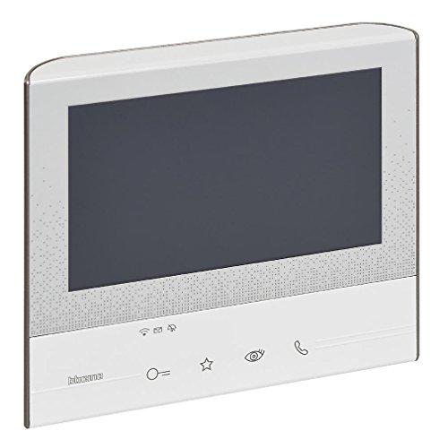 Legrand, Classe 300 X13E Video-Innenstelle mit 7'-Touchscreen, 4 sensitiven Tasten und Smartphone Anbindung zur Erweiterung des Sets 363911, 344642