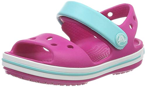 Crocs Unisex-Kinder Crocband Sandalen, Pink (Candy Pink/Pool 6lh), 19/20 EU