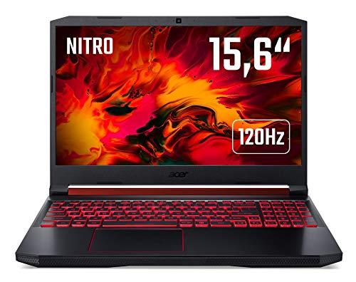 Acer Nitro 5 (AN515-54-55UY) Gaming Laptop 15.6 Zoll Windows 10 Home - FHD 120 Hz IPS Display, Intel Core i5-9300H, 8 GB DDR4 RAM, 512 GB M.2 PCIe SSD, NVIDIA GeForce RTX 2060 - 6 GB GDDR6