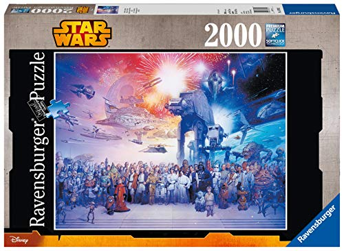 Ravensburger Puzzle 16701 - Star Wars Universum - 2000 Teile Puzzle für Erwachsene und Kinder ab 14 Jahren, Star Wars Puzzle