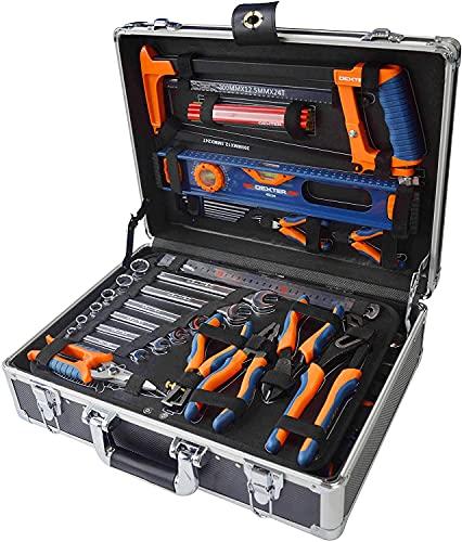 DEXTER - 130-teiliger Werkzeugkoffer