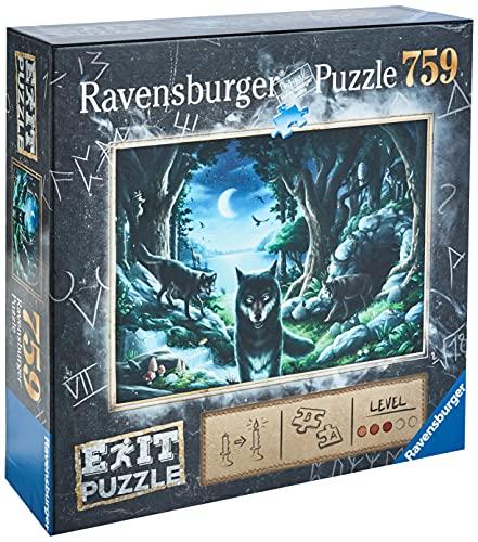 Ravensburger EXIT Puzzle 15028 - Wolfsgeschichten - 759 Teile Puzzle für Erwachsene und Kinder ab 12 Jahren