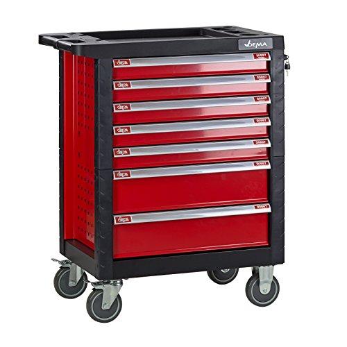 DEMA Werkstattwagen'Carlos' 7 Schubladen