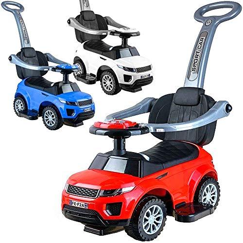 Baby-pur Schiebeauto Rutscherauto Kinderauto zum schieben 2in1 umbaubar für Jungen und Mädchen