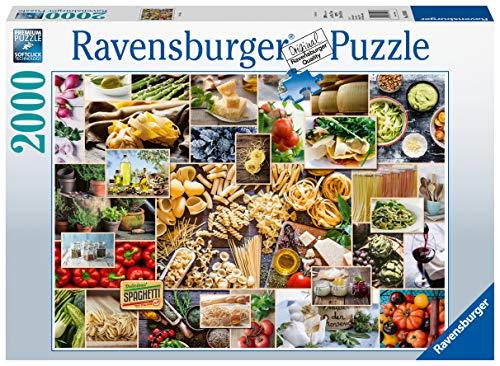 Ravensburger Puzzle 15016 - Food Collage - 2000 Teile